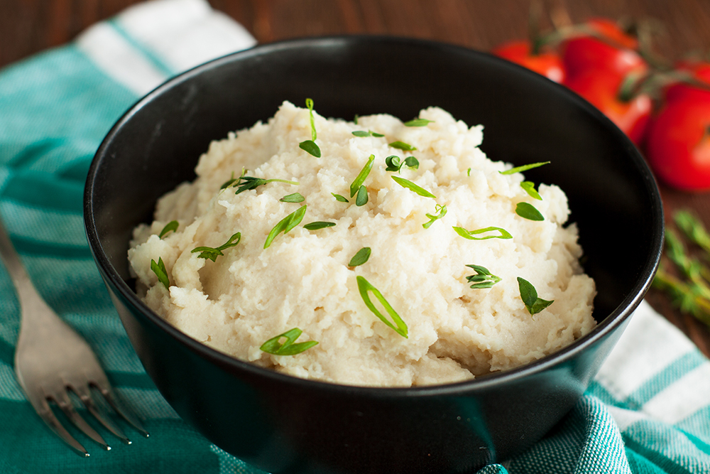 Creamy Cauliflower Mashed Potatoes